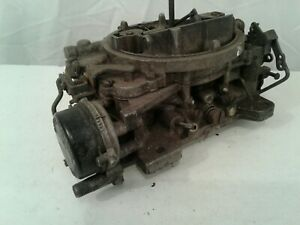 Carter Afb Carburetor C7vf J6 4 Bbl For Parts Or Rebuild