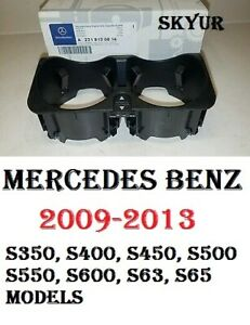 Center Console Cup Holder For Mercedes S350 S400 S450 S500 S550 S63 S65 Genuine