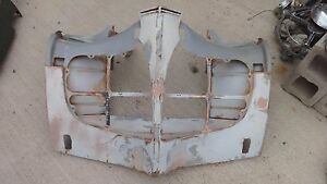 1940 Desoto Grille Shroud Shell Original free Delivery Fall Carlisle hershey Pa