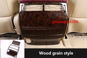 For Toyota Land Cruiser Lc200 2016 19 Wood Grain Style Rear Air Vent Outlet Trim