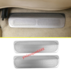 For Toyota Land Cruiser Lc200 2016 2019 Seat Under Air Vent Cover Anti Dust Trim