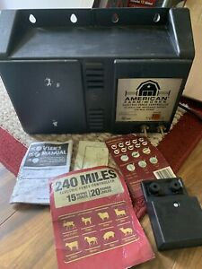 Eac200m American Farm Works 240 Mile 15 Joule Electric Fence Charger Controller