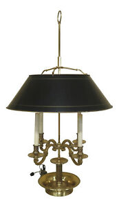 F30853ec High Quality Solid Brass French Style Bouillotte Lamp