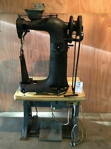 Puritan Industrial Commercial Leather Sewing Machine Saddlery High Post Tack 110