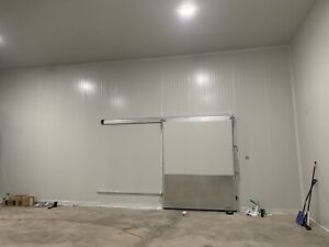 Walk in Cooler Walk In Freezer Combo 80 By 38 By 17 Brand New 4 Sliding Doors