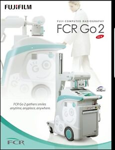 Fuji Fcr Go 2 Portable Cr X ray Digital 2011