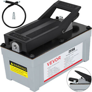 Air Powered Hydraulic Foot Pump Vevor 2510a 10 Pedal Control Tool 2 Stage