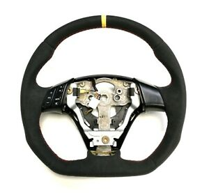Steering Wheel Mazda Mazdaspeed 3 Mps Flat Bottom Full Reshaped