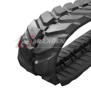 Bobcat X331 Mini Excavator Rubber Track 300x52 5x80 Replacement Rubber Tracks