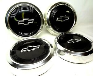 Chevrolet Truck 4 Small Dog Dish Hubcaps Wheel Covers Chevy Poverty Caps Hub Cap
