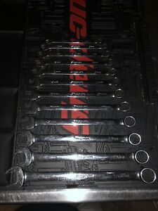 Snap On Flank Drive Oexm 12pc Wrench Set 8 10 19 21mm Oexm710 Plus Extras