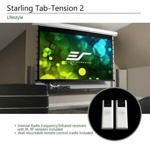 Elite Screens Stt150xwh2 e6 Starling Tab tension 2 150 16 9 Motorized Projector