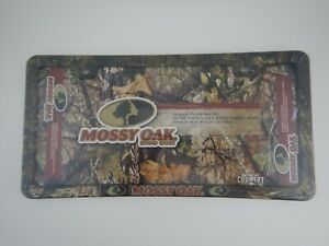 Mossy Oak Break Up Country Camo License Plate Frame Hunting Fishing Camping