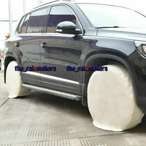 4pcs Set 28inch Diameter Tyre Rv Wheel Tire Covers Auto Car Truck Camper Trailer
