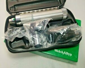 Welch Allyn 3 5v Complete Diagnostic Set W Otoscope Ophthalmoscope c Handle