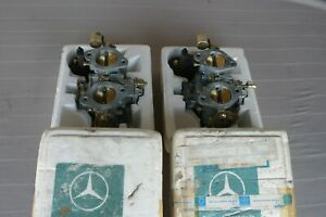 Mercedes 190sl Carburetor Solex Phh44 New In Box Oem