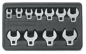 Gearwrench 11 Pc 3 8 Drive Crowfoot Sae Wrench Set 81908