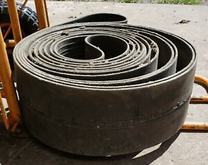 Vintage Hit And Miss Engine Machinery Farm Flat Belt 7 X 28 Total Loop 50