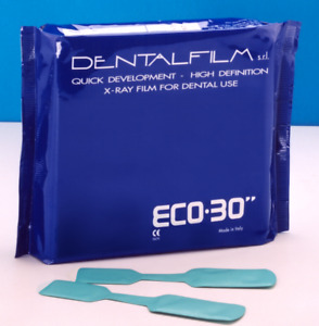 Eco 30 Self Developing X ray Films 50pcs Ergonom x 1x Dental Xray Film