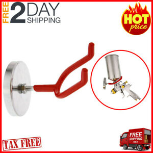 Magnetic Paint Spray Gun Holder Stand For Gravity Feed Cup Hvlp To 10 Lbs