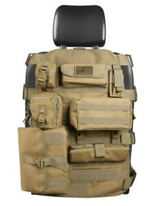 Front Seat Tactical Cover Holder Storage Military Hunting Camp Fishing Organizer