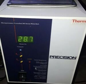 Thermo Precision Microprocessor Controlled 280 Series Water Bath Model 2833 Test