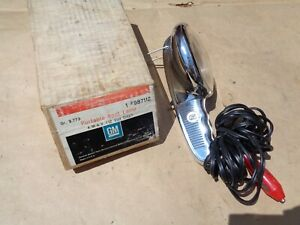 Nos Original Gm Accessory Portable Spot Lamp Chevy Buick Oldsmobile Pontiac 12v