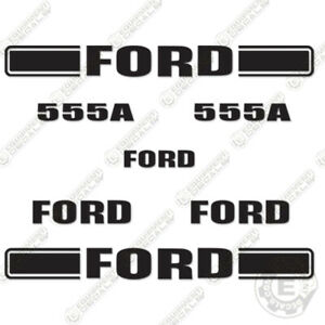 Ford 555a Decal Kit Backhoe Equipment Decals 555 A