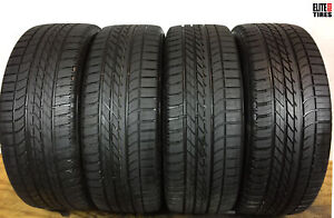 4 Goodyear Eagle F1 Asymmetric Suv 4x4 P255 55r20 255 55 20 Tire Driven Once