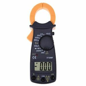 Digital Clamp Ammeter Voltage Dc Ac Current Resistance Clamp Meters Mini Testers