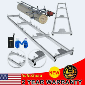Chainsaw Rail Mill Guide System 9ft Or 5ft Ladder Connector Reinforce Trees