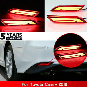 For Toyota Camry 18 Car Led Light Rear Warning Bumper Light Brake Light Rear Hot