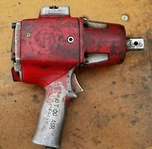 Vintage Chicago Pneumatic Impact Wrench Working Condition b6f 1