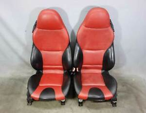1999 2002 Bmw Z3 Roadster Late Factory Front Sports Seats Dream Red Chameleon Oe