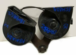 13 2014 15 Nissan Armada High And Low Tone Horn Set Oem