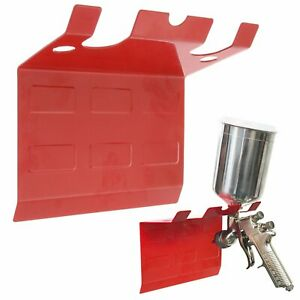 Brand Magnetic Paint Spray Gun Holder Stand Hold Up To 5 Gravity Hvlp Guns