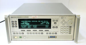 Hp Agilent 83620b 10mhz 20ghz Synthesized Swept Signal Generator Opt 004 008