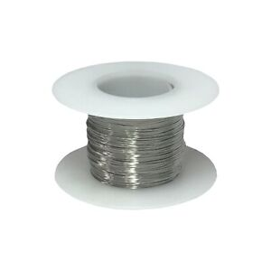 32 Awg Gauge Stainless Steel 316l Wire 250 Length 0 0079 Diameter