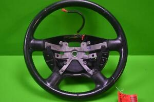 2002 2005 Ford Explorer Black Leather Electric Steering Wheel
