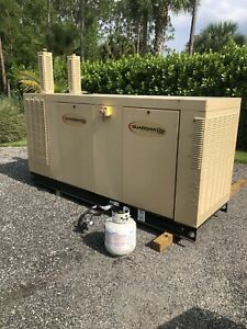 Generac Qt08046anan Guardian Elite 80kw Lp ng Standby Backup Power Generator