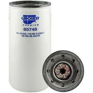 Carquest 85748 Dual Flow Lube Spin On Oil Filter New