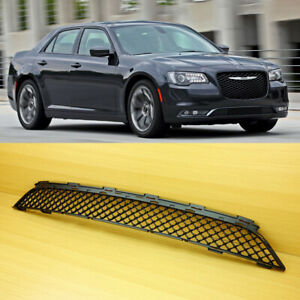 New Fits Chrysler 300 2015 2017 Matte Black Bentley Look Front Lower Grille Abs