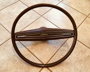 72 77 Ford Steering Wheel Ranchero Torino And Lincoln Continental Steering Wheel