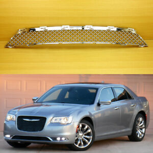 For Chrysler 300 300c Chrome Sliver 2015 2017 Lower Front Grille Bentley Style