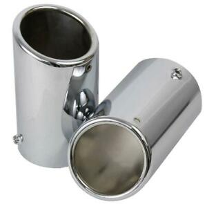 New Oem Chrome Exhaust Tips 2009 2010 2011 2012 Volkswagen Sportswagen