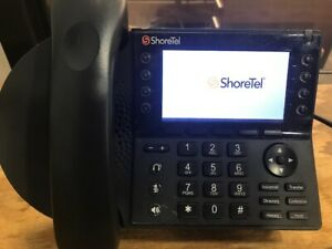 Shoretel Ip485g Phone Handset And Stand Included Used