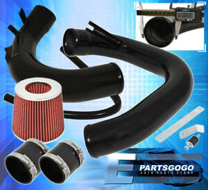 04 09 Mazda 3 L4 4cyl Performance Cold Air Induction Intake Filter System Black