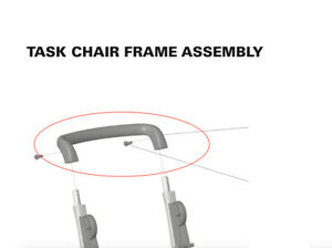 Humanscale Freedom Office Chair Handle Brace For Task Chair Freedom