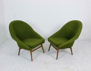 Vintage Hungarian Midcentury Tub Cocktail Chairs 1960s