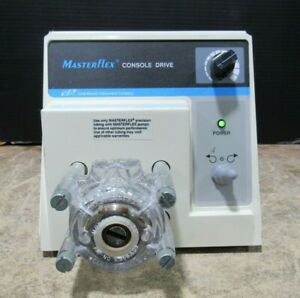 Cole parmer Masterflex Console Drive 7520 40 Variable Speed Pump Tested working